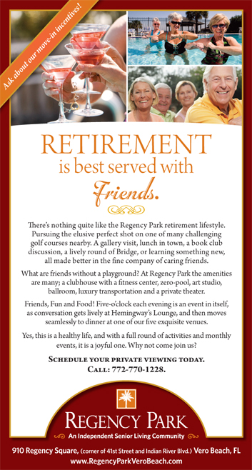 Regency Park Friends Ad