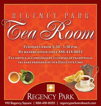 Regency Park Tea Room Ad