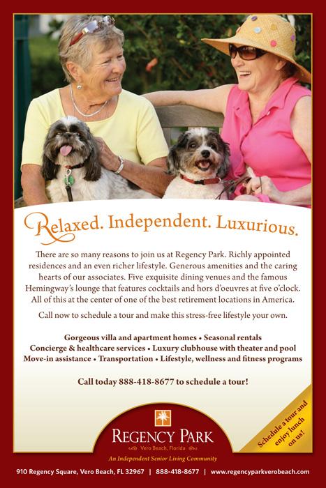 Regency Park Relaxed Living Ad
