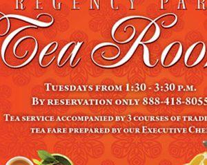 Regency Park – Tea Room