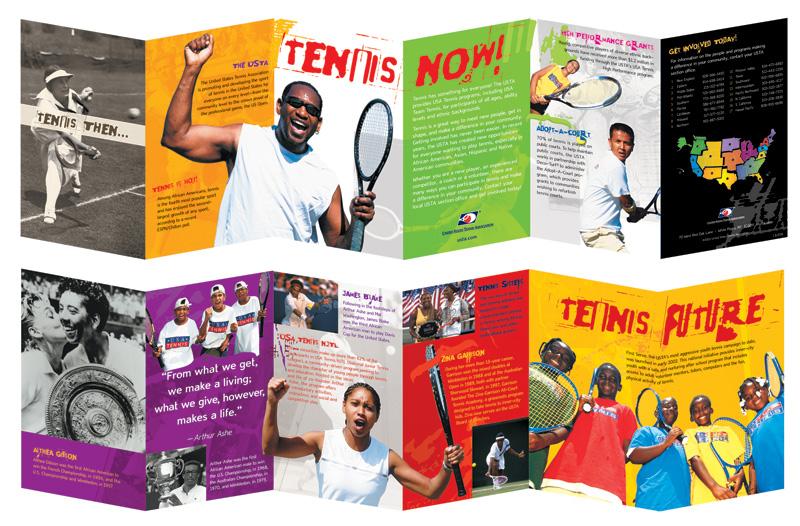 USTA Tennis Brochure