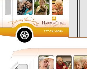 HarborChase Bus Wrap