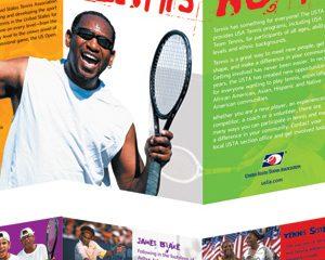 USTA — Tennis Now! Brochure