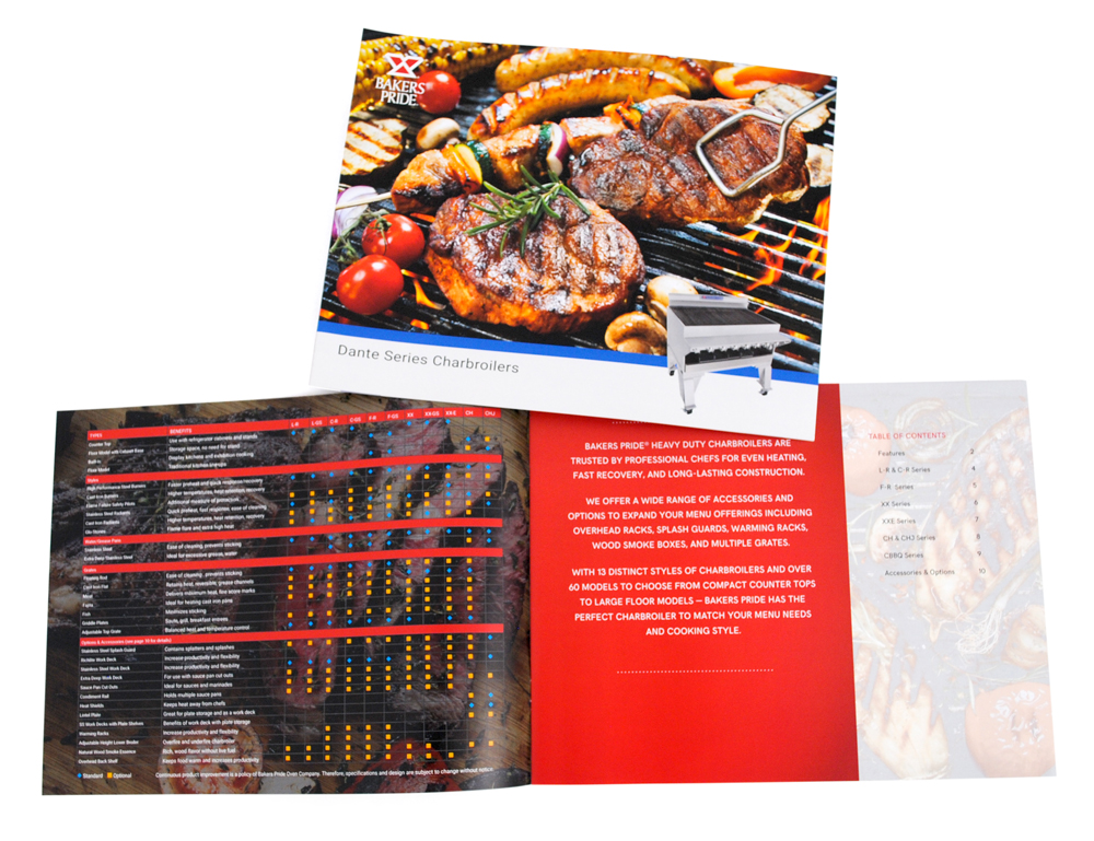 Bakers Pride Charbroiler Brochure