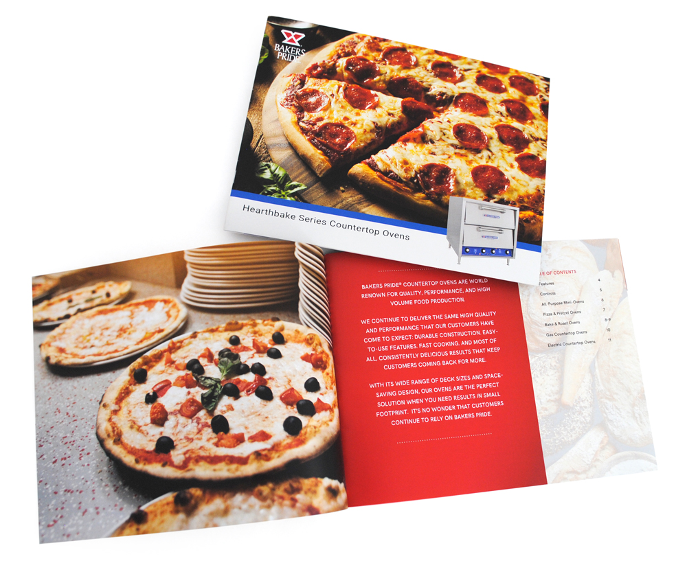 Bakers Pride Countertop Oven Brochure