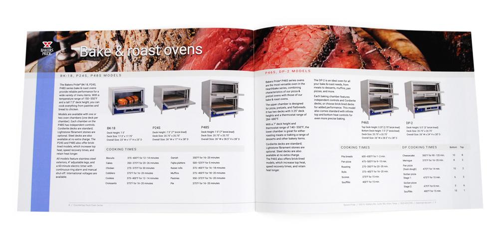 Bakers Pride Countertop Oven Brochure