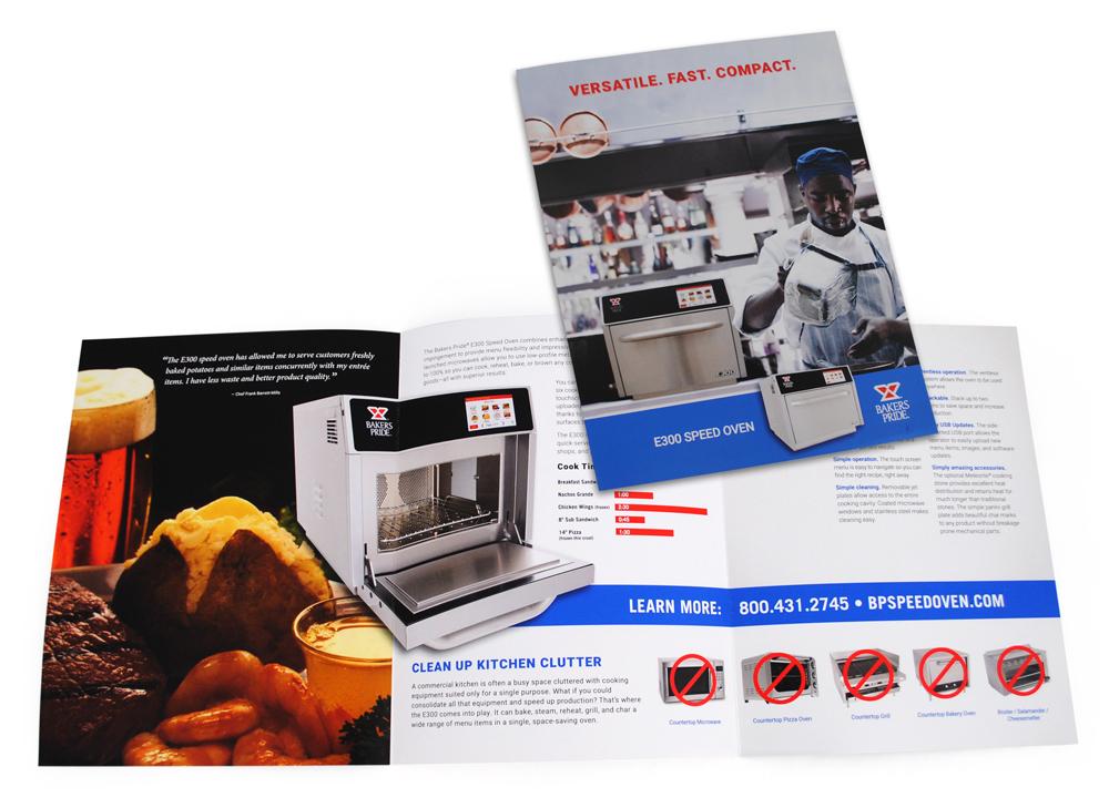 Bakers Pride Speed Oven Brochure