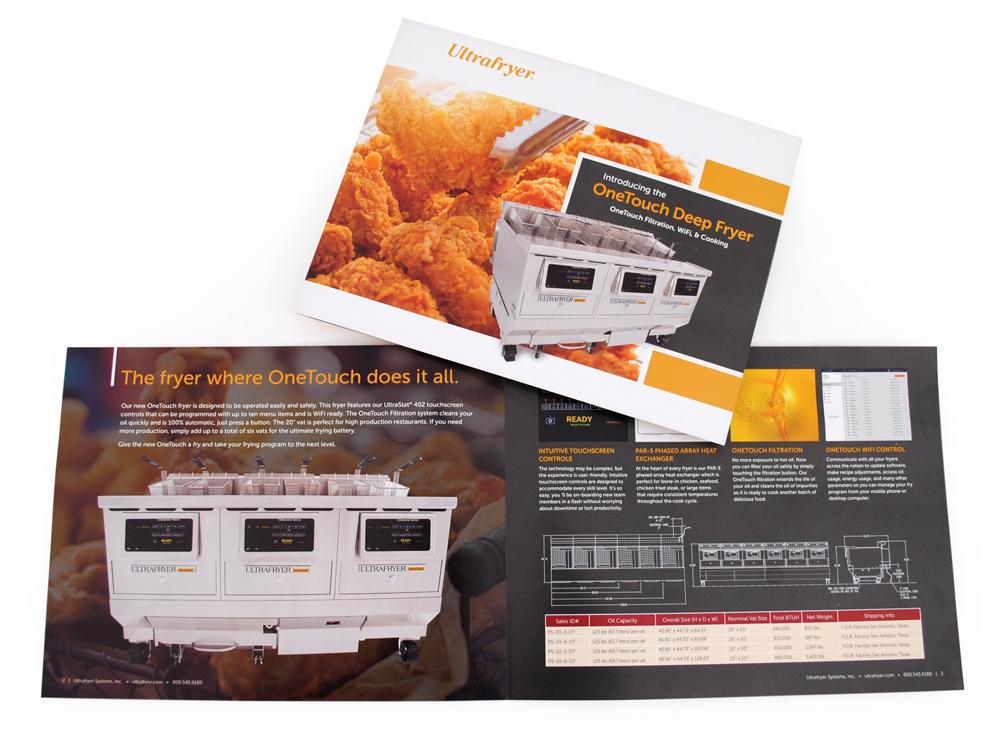OneTouch Deep Fryer Brochure
