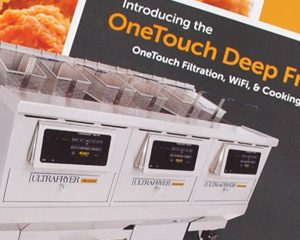 Ultrafryer OneTouch Deep Fryer Brochure
