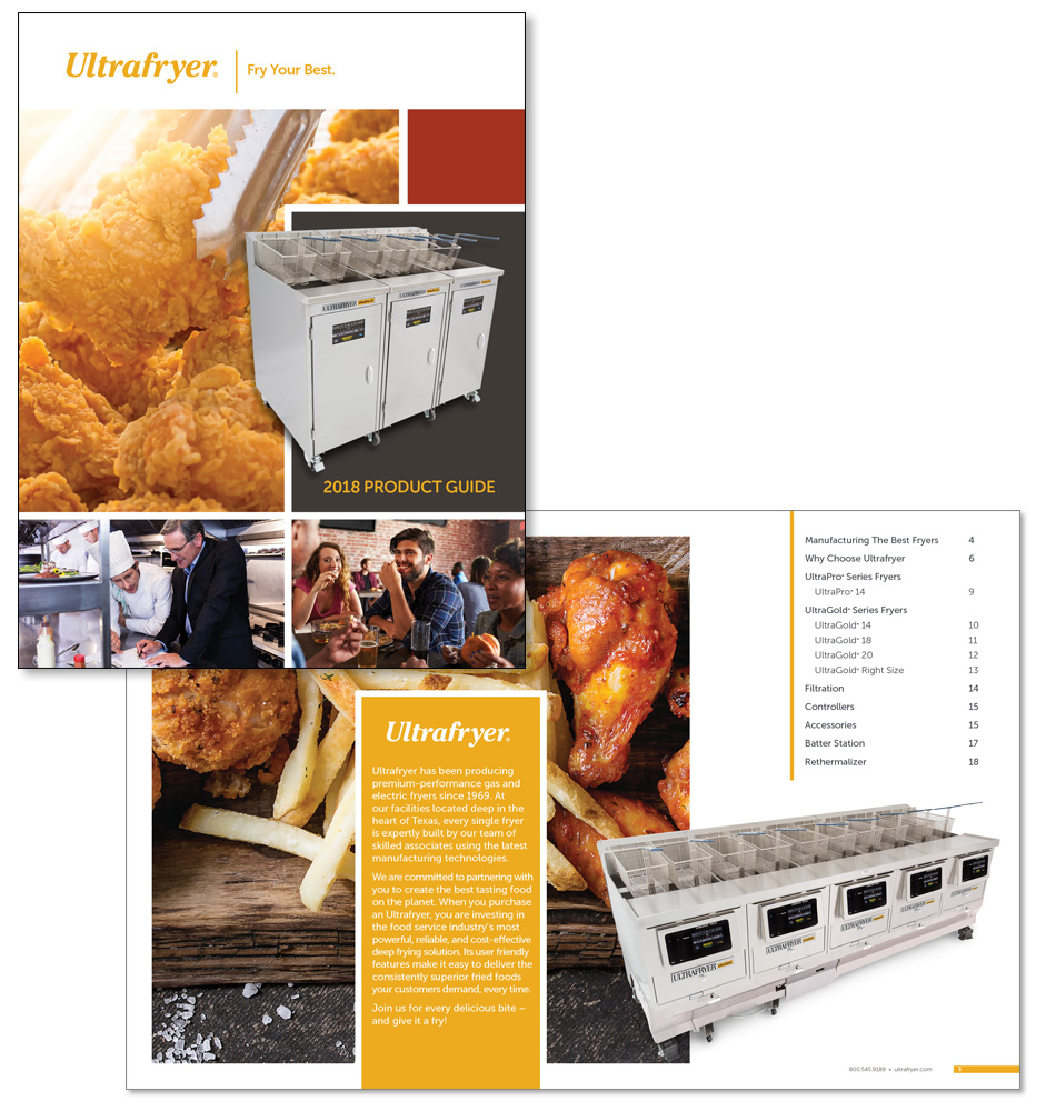 Ultrafryer Product Guide