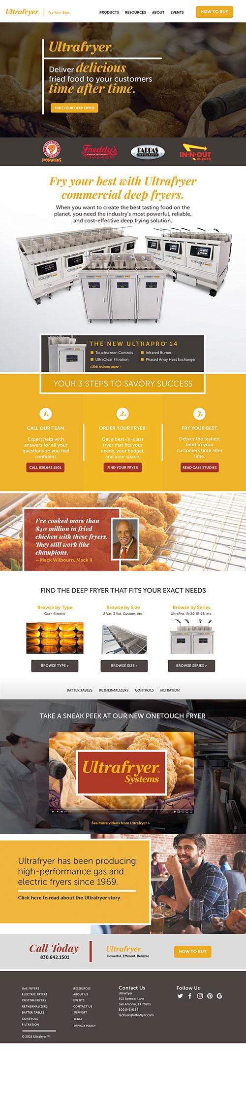 Ultrafryer Homepage